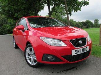2011 SEAT IBIZA 1.4 SE COPA 5d 85 BHP £4395.00
