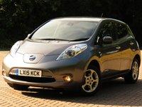 2015 NISSAN LEAF  ACENTA 5d 109 BHP £10333.00