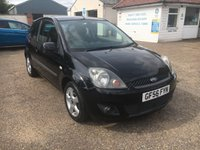 2006 FORD FIESTA 1.4 FREEDOM 16V 3d 78 BHP £SOLD