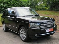 USED 2009 59 LAND ROVER RANGE ROVER 5.0 V8 AUTOBIOGRAPHY 5d AUTO 500 BHP REAR ENTERTAINMENT & SUN ROOF!