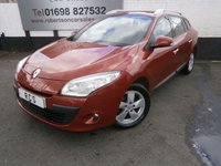 USED 2010 60 RENAULT MEGANE 1.5 DYNAMIQUE TOMTOM DCI FAP 5dr GREAT VALUE ECONOMICAL ESTATE