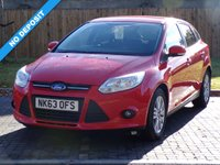 USED 2013 63 FORD FOCUS 1.0 EDGE 5d 99 BHP