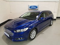 USED 2015 15 FORD MONDEO 1.6 ZETEC ECONETIC TDCI 5d 114 BHP 1 Owner/Ford History(Just Serviced)/Sat-Nav/Park Sensors