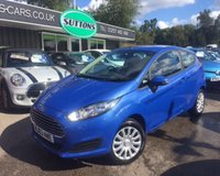 2013 FORD FIESTA 1.2 STYLE 3d 81 BHP £5989.00