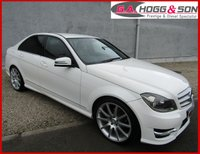 2012 MERCEDES-BENZ C CLASS 2.1 C200 CDI BLUEEFFICIENCY AMG SPORT 4dr  £10395.00