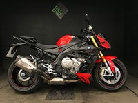 USED 2017 67 BMW S 1000 R SPORT. 17. AKRAPOVIC. 3636 MILES. GILLES LEVERS. TRACKER