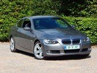 2007 BMW 3 SERIES 3.0 325I SE 2d AUTO 215 BHP £7570.00
