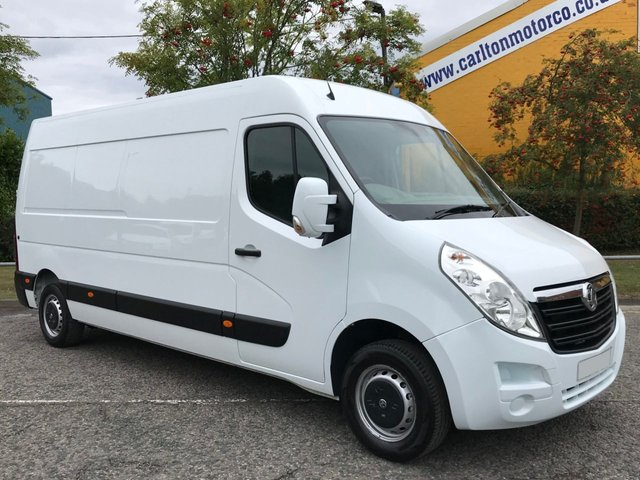2015 15 VAUXHALL MOVANO 2.3 F3500 L3H2 PANEL VAN CDTI 125 LWB *Air Con* Free UK Delivery