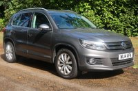 2014 VOLKSWAGEN TIGUAN 2.0 MATCH TDI BLUEMOTION TECHNOLOGY 5d 139 BHP £12000.00