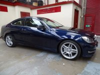 2012 MERCEDES-BENZ C CLASS 2.1 C220 CDI BlueEFFICIENCY AMG Sport Sport Coupe 7G-Tronic Plus 2dr £10500.00