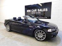 2004 BMW M3 3.2 M3 SMG 2d 338 BHP £11491.00