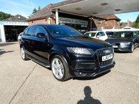 2013 AUDI Q7 3.0 TDI QUATTRO S LINE PLUS 5d AUTO 245 BHP £26990.00