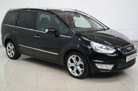 2013 FORD GALAXY 2.0 TITANIUM X TDCI 5d AUTO 163 BHP £12750.00