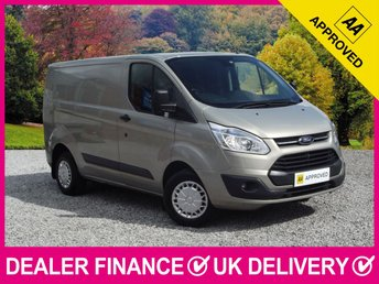 2015 FORD TRANSIT CUSTOM 2.2 TDCI TREND 270 PANEL VAN £9450.00