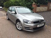 2013 VOLKSWAGEN GOLF 1.6 SE TDI BLUEMOTION TECHNOLOGY 5d 103 BHP PLEASE CALL TO VIEW £8650.00