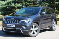 USED 2014 64 JEEP GRAND CHEROKEE 3.0 V6 CRD OVERLAND 5d AUTO 247 BHP