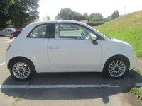 USED 2013 13 FIAT 500 1.2 C LOUNGE DUALOGIC 3d AUTO 69 BHP