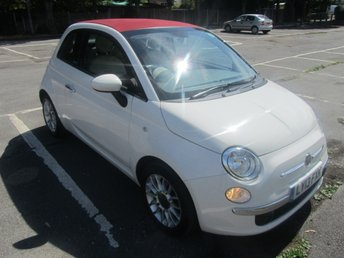 2013 FIAT 500 1.2 C LOUNGE DUALOGIC 3d AUTO 69 BHP £SOLD