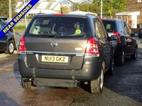USED 2013 13 VAUXHALL ZAFIRA 1.7 EXCLUSIV CDTI ECOFLEX 5d 108 BHP WHEELCHAIR ACCESS WAV + 3 SEATS