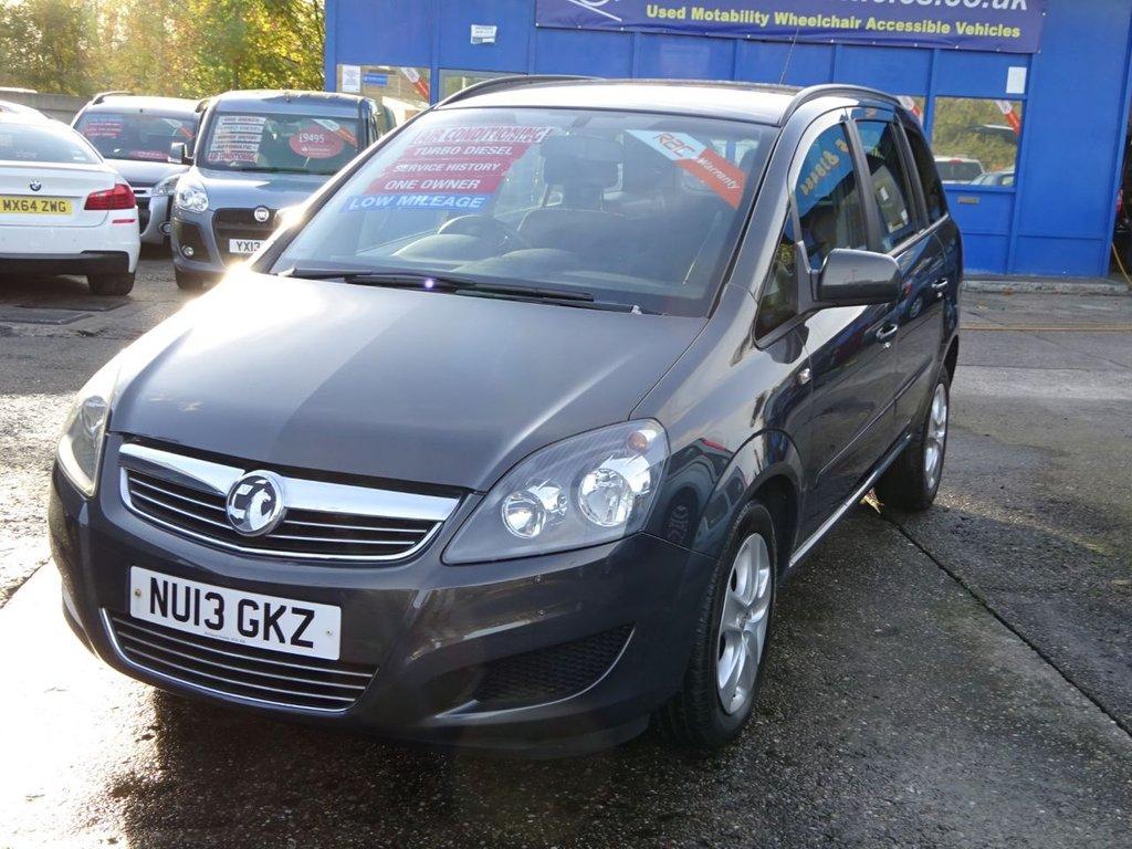 2013 Vauxhall Zafira Exclusiv Cdti Ecoflex 163 8 995