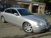 USED 2005 55 JAGUAR S-TYPE 2.5 V6 SE 4d AUTO 201 BHP GREAT VALUE + 2 OWNER+MOT JUNE 2019