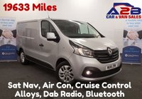 USED 2016 16 RENAULT TRAFIC 1.6 SL27 SPORT ENERGY DCI 120 BHP, Sat Nav, Air Con, Low Mileage (19702), Aux, Bluetooth Connectivity, 17