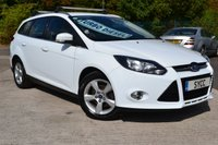 2014 FORD FOCUS 1.6 ZETEC NAVIGATOR TDCI 5d Estate 113 BHP £5499.00