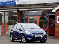 USED 2013 13 PEUGEOT 208 1.4 ACTIVE 3dr ** Low Miles + Just 2 Owners **