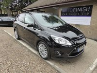 USED 2013 13 FORD C-MAX 1.6 TITANIUM TDCI 5d 114 BHP # FULL FORD SERVICE HISTORY WITH 8 STAMPS # £30 ROAD TAX # DAB RADIO #