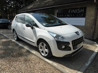USED 2012 62 PEUGEOT 3008 1.6 ALLURE E-HDI FAP 5d AUTO 112 BHP # FULL SERVICE HISTORY # 2 KEYS # GLASS ROOF #