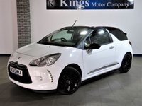 2015 DS DS 3 1.6 BLUEHDI DSTYLE NAV S/S 3dr Convertible £7990.00