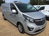 USED 2015 65 VAUXHALL VIVARO 1.6 2900 L2H1 CDTI P/V SPORTIVE 1d 114 BHP AIR/CON CRUISE CONTROL CHOICE OF 10 IN STOCK.