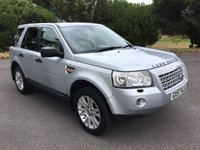 USED 2007 57 LAND ROVER FREELANDER 2.2 TD4 HSE 5d AUTO 159 BHP TOP SPEC AUTO WITH FSH AND EVERY EXTRA!!!!!!!!!!