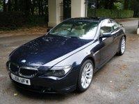 USED 2006 BMW 6 SERIES 3.0 630I SPORT 2d AUTO 255 BHP