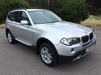USED 2008 58 BMW X3 2.0 D SE 5d AUTO 175 BHP AUTOMATIC PARTEXCHANGE DRIVES WELL LONG MOT