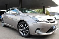 2014 TOYOTA AVENSIS 1.8 VALVEMATIC ICON BUSINESS EDITION 4d 147 BHP £9990.00