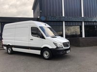 USED 2014 64 MERCEDES-BENZ SPRINTER 313 CDI MWB Hi Roof 2.1 130 BHP 2014 (64) Plate White