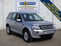 USED 2013 13 LAND ROVER FREELANDER 2 2.2 TD4 XS 5d 150 BHP Full LandRover History Leather 0% Deposit Finance Available