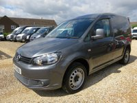 2011 VOLKSWAGEN CADDY  C20 2.0 TDI 140 BHP WITH TAILGATE 54373 MILES £8995.00