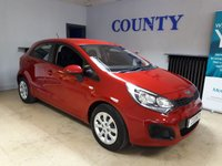 USED 2014 14 KIA RIO 1.2 1 5d 83 BHP * ONE OWNER WITH HISTORY *