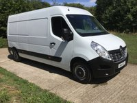 USED 2015 15 RENAULT MASTER 2.3 LM35 BUSINESS DCI S/R P/V 1d 125 BHP 1 OWNER, JUST SERVICED AND NEW MOT,