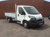2015 PEUGEOT BOXER 2.2 HDI 335 L2 C/C 1d 130 BHP Tipper Truck  £13194.00