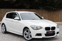USED 2014 14 BMW 1 SERIES 2.0 116D M SPORT 5d 114 BHP ***REQUEST YOUR WATSAPP VIDEO***