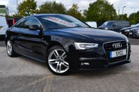 2016 AUDI A5 2.0 TDI S LINE 3d AUTO 187 BHP ~ SAT NAV ~ HEATED LEATHER (VAT QUALIFYING) £18499.00