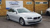 2011 BMW 5 SERIES 2.0 520D SE TOURING 5d 181 BHP £8984.00