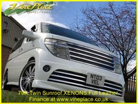 USED 2003 03 NISSAN ELGRAND Rider Autec 3.5 Automatic 8 Seats Full Leather Twin Sunroof +TWIN SUNROOF+STUNNING RIDER+