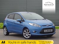 "USED 2009 58 FORD FIESTA 1.4 TITANIUM 5d 96 BHP CLIMATE, BLUETOOTH, 16"" ALLOYS"