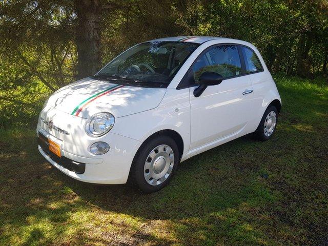 USED 2012 12 FIAT 500 1.2 POP 12 MONTH MOT & 12 MONTH WARRANTY