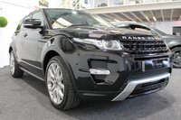 USED 2012 12 LAND ROVER RANGE ROVER EVOQUE 2.2 SD4 DYNAMIC LUX 5d AUTO 190 BHP **LUX PACK+TV+PAN SKY ROOF**
