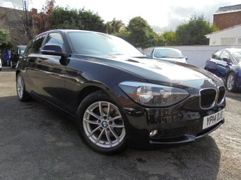 2014 BMW 1 SERIES 1.6 116D EFFICIENTDYNAMICS 5d 114 BHP £7000.00